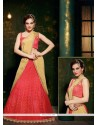 Adorning Red Designer Saree