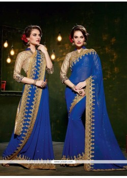 Immaculate Georgette Designer Saree