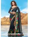 Strange Art Silk Lace Work Designer Saree