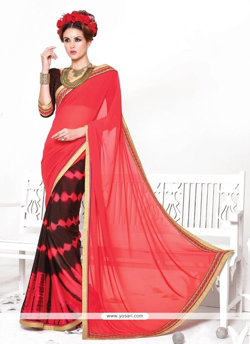 Voluptuous Crepe Silk Casual Saree