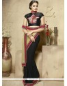 Glossy Resham Work Designer Saree