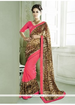 Perfect Georgette Casual Saree