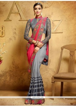 Luxurious Designer Saree For Reception
