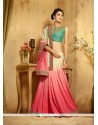 Enticing Viscose Resham Work Designer Saree