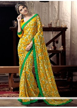 Customary Lace Work Casual Saree