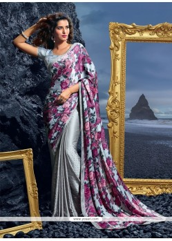 Modern Multi Colour Designer Saree