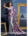 Modern Multi Colour Designer Saree