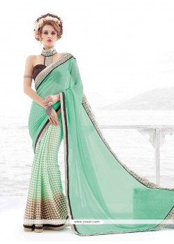 Vivacious Georgette Multi Colour Casual Saree