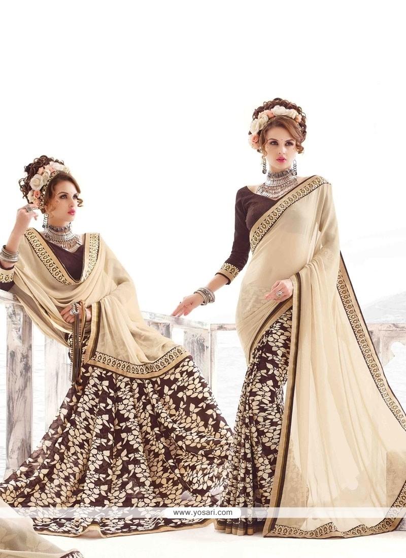 Vivacious Multi Colour Casual Saree