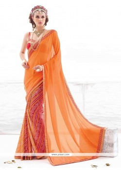 Congenial Multi Colour Casual Saree