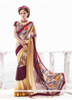 Stylish Multi Colour Casual Saree