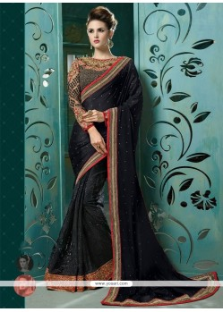 Glorious Designer Saree For Reception