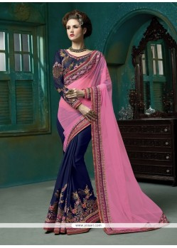 Pristine Lace Work Designer Saree