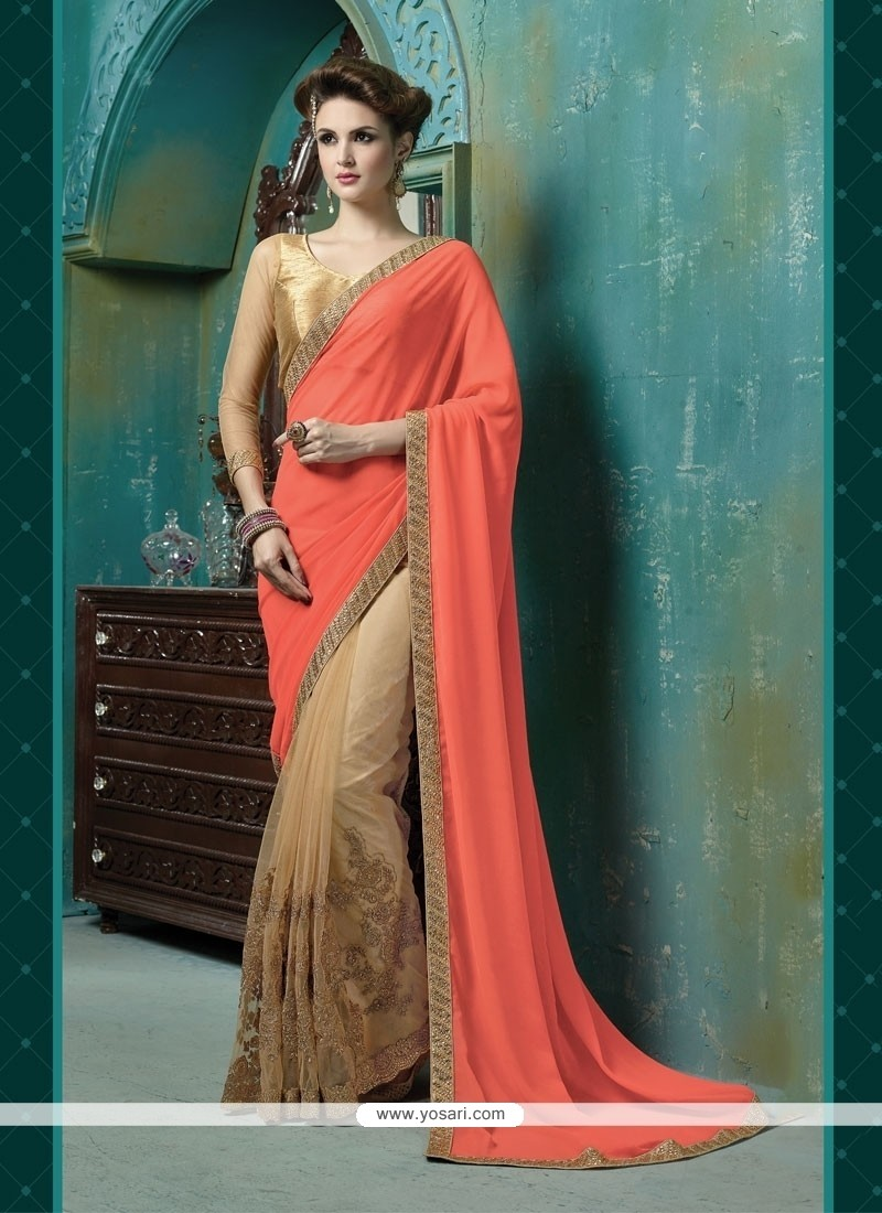 Royal Georgette Designer Saree