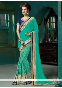 Entrancing Designer Saree For Reception