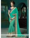 Entrancing Designer Saree For Reception