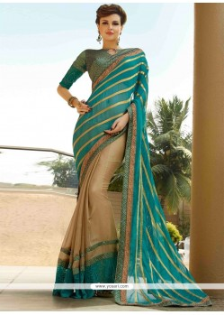 Voluptuous Resham Work Viscose Designer Saree