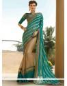 Voluptuous Resham Work Viscose Designer Saree