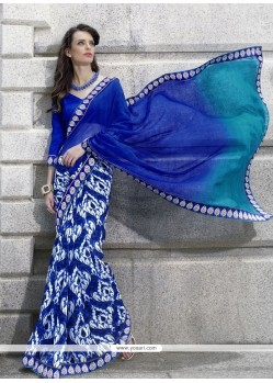 Lordly Georgette Casual Saree