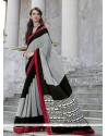 Competent Print Work Georgette Casual Saree