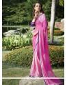 Sunshine Georgette Multi Colour Print Work Casual Saree