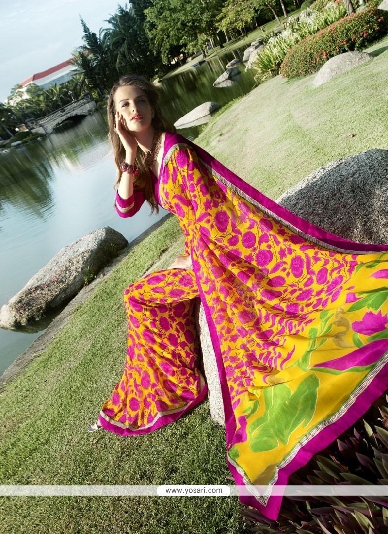 Princely Multi Colour Casual Saree