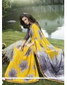 Delightful Print Work Casual Saree