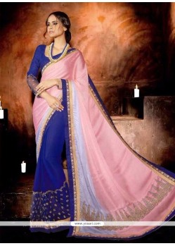 Sunshine Georgette Designer Saree