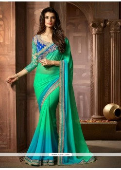 Marvelous Georgette Designer Saree