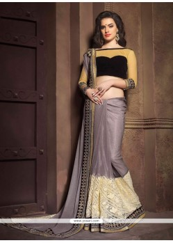 Intricate Designer Saree For Festival