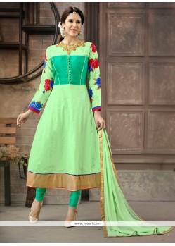 Haute Cotton Anarkali Salwar Kameez