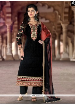 Graceful Resham Work Designer Pakistani Suit