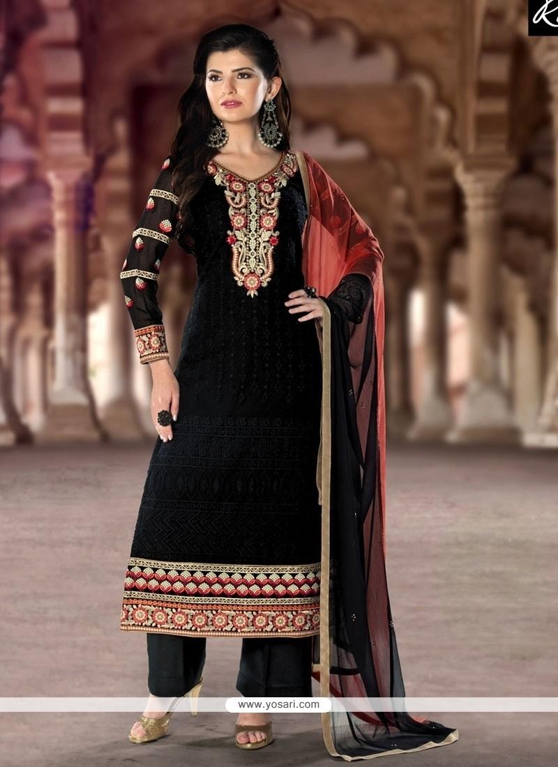 081a9d5438 Shop online Graceful Resham Work Designer Pakistani Suit