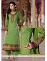 Intriguing Georgette Resham Work Designer Pakistani Suit