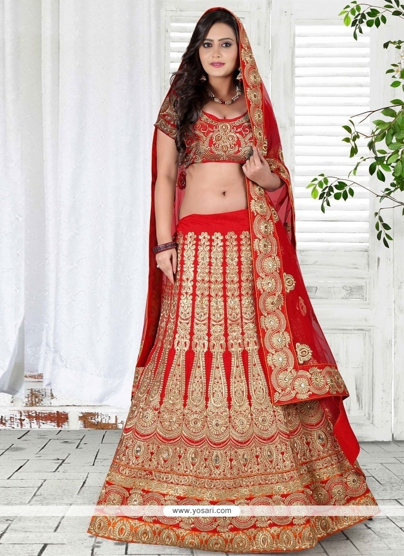 Engrossing Bhagalpuri Silk A Line Lehenga Choli