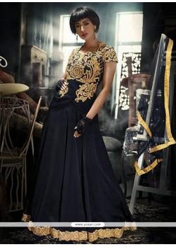 Pretty Net Black Designer Gown