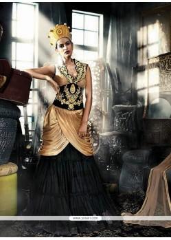 Specialised Georgette Resham Work Designer Gown