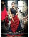 Extraordinary Zari Work Net Designer Gown