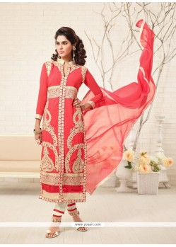 Modern Georgette Designer Straight Salwar Kameez