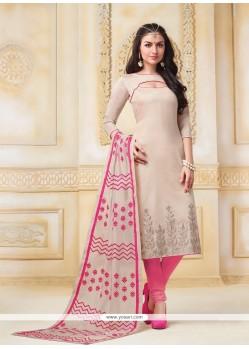 Piquant Banarasi Silk Resham Work Churidar Salwar Suit