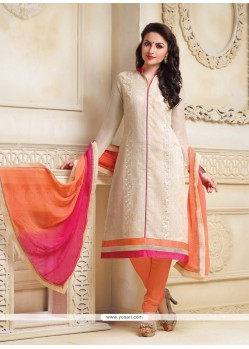 Honourable Net Lace Work Churidar Salwar Suit
