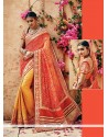 Precious Banarasi Silk Patch Border Work Classic Designer Saree