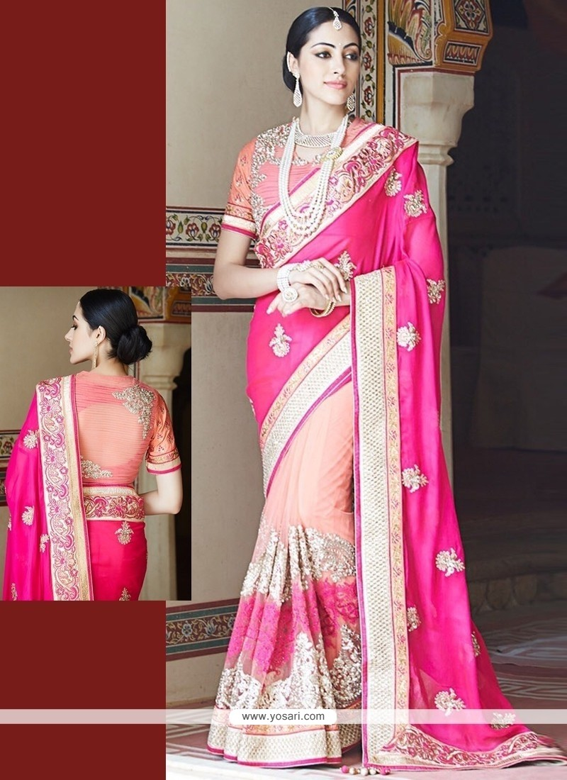 Delightsome Net Designer Saree