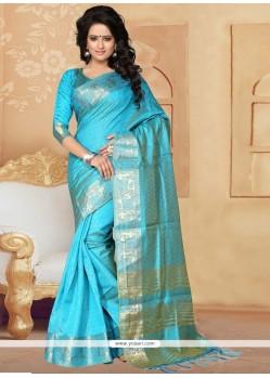 Compelling Banarasi Silk Designer Saree