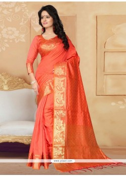 Lovable Patch Border Work Designer Saree