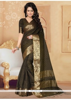 Regal Banarasi Silk Green Designer Saree