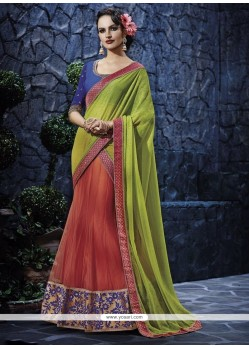 Immaculate Georgette Lehenga Saree