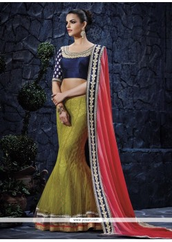Radiant Lehenga Saree For Party