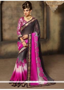Majesty Black Designer Saree