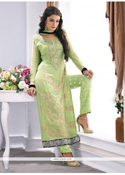 Exotic Georgette Green Designer Palazzo Salwar Kameez